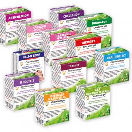 Pack de 4 boites d'orogranules au choix