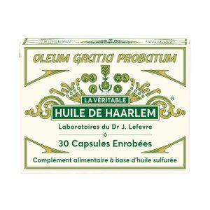 1 boite d'Huile de Haarlem 30 gélules