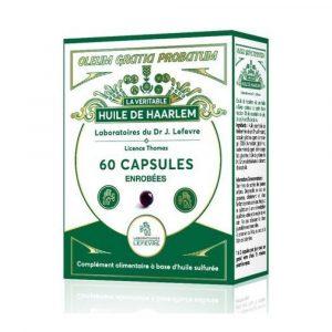 1 boite d'huile de Haarlem 60 gélules