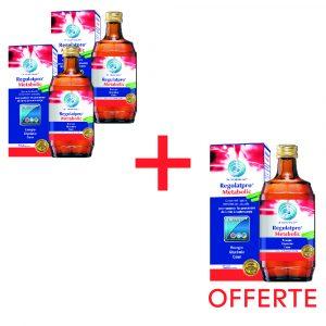 Promotion d'été : 2 bouteilles de Regulatpro Metabolic achetées + 1 offerte