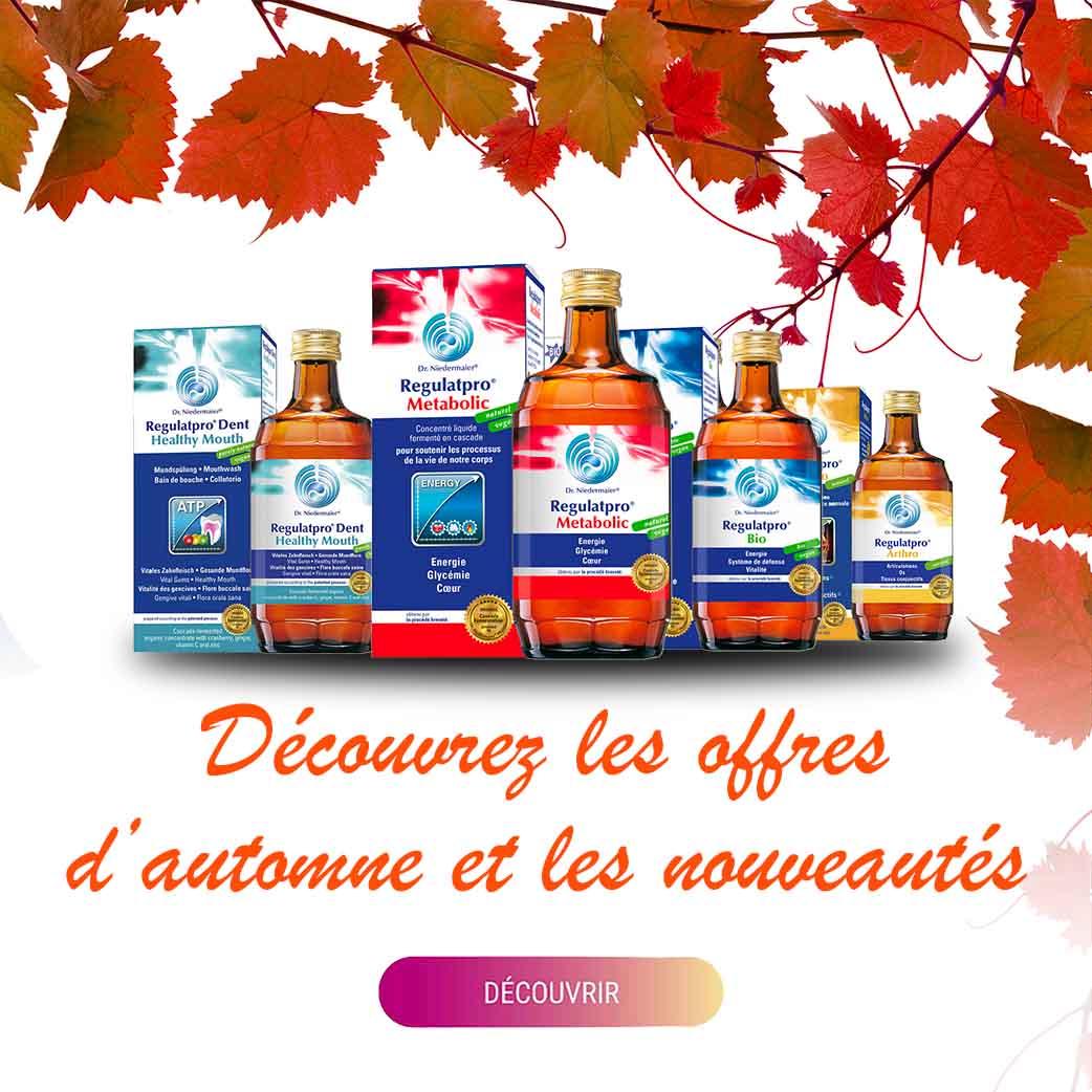 promotions d'automne